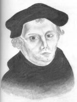 Martin Luther by Leeuwtje