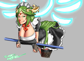 Maid Palutena by Issac95