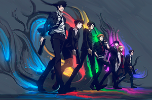 Psycho Pass by Ayanashii