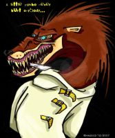 Psycho the Weasel by Lady-----HADES