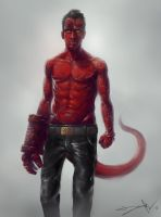 hellboy by lordbaells