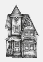 victorian house by sarah3318