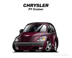 Chibi Chrysler PT Cruiser by CGVickers