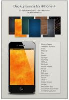 Backgrounds for iPhone 4 by Alexander-GG