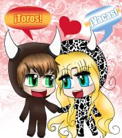 .: Cow and Toro :. by ArgieArgie