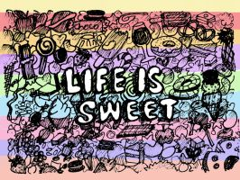 Life is sweet by amiablez