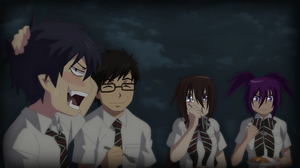 Blue Exorcist-Having Lunch with Friends by TFAfangirl14