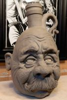 Mustache Man Jug- WIP by thebigduluth
