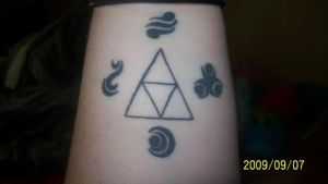 Triforce Tattoo - Self Design by DoctorPixel