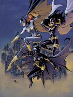 Batgirls by n3gative-0