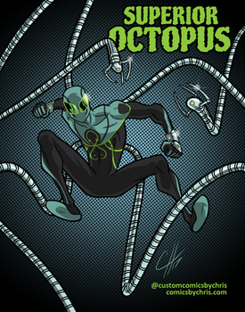The Superior Octopus  by ComicsbyChris