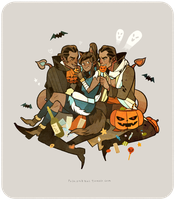 Lok-Halloween Time-AMORRALOK! by freestarisis