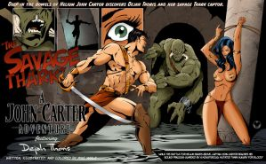 John Carter of Mars-The Savage Thark by MikeMahle