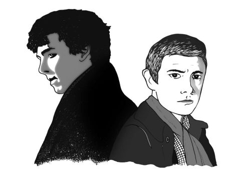 Sherlock - The Game is On by mikedaws