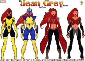 Jean Grey Series: Part Seven by SavageMouse
