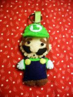 Luigi Plush by vklolita