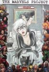 The Marvels Project - Black Cat Sketch Comic Cover by DenaeFrazierStudios