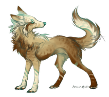 SAIdrawn Canine #1 - OTA (OPEN) by SwarThylacine-Adopts