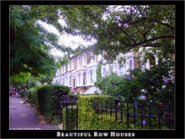 Row houses, London by LunaticDesire