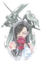 Tifa in the Middle by Nick-Ian
