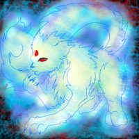 Evil Deranged Persian Ghost by CochinChick