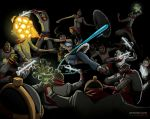 Korra Vs Equalists by byronelliott88