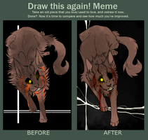 Draw This Again! Meme by DoctorCritical