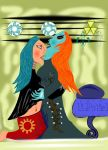 ZANT AND MIDNA: THE LONG KISS GOODNIGHT by Kublakhan27