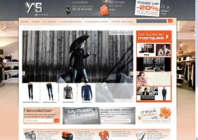 Site ecommerce YS un1ted by Giboo