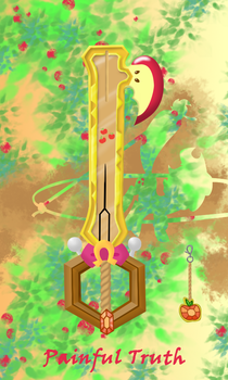 Painful Truth_keyblade by xilenobody143