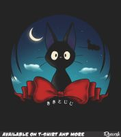 The Witch's Familiar (Kiki's Delivery Service) by Ruwah
