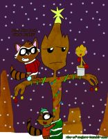 .:. GOTG XMas In Family: RR N Groot .:. by Rise-Of-Majora