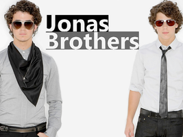 Kevin and Nick Jonas Wallpaper by Meeltje2951