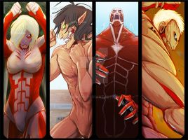 AoT - Titan Party! by animon