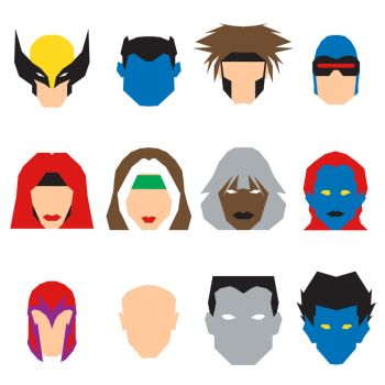 Xmen Icons by mattmagargee