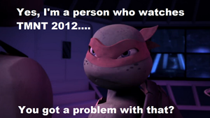 Your a fan of TMNT 2012 by ChaoFlakaa