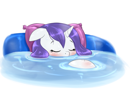 COLLAB - Relaxing bath by Pia-sama