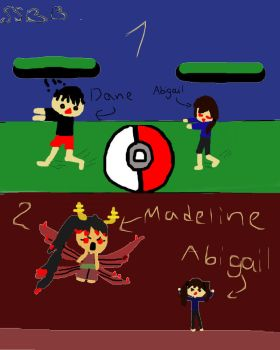 SSBB with CreepyGamerLover's and My OC by PokemonMaster2004