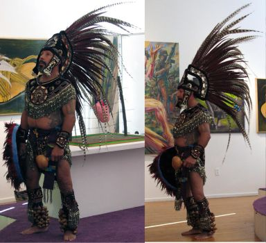 Free Aztec Dancer stock 3 by tursiart