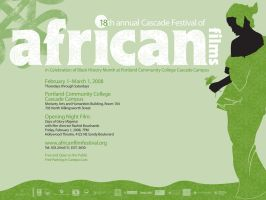 African Films Festival Poster by KernChick