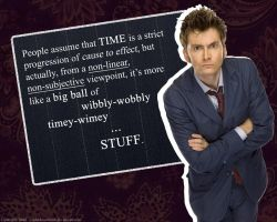 Wallpaper - Timey Wimey Stuff by AShadowofTruth