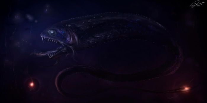 Abyss Dragon by GuilleBot