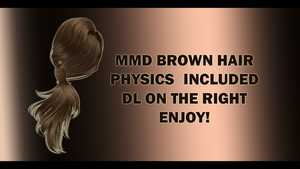 MMD BROWN HAIR DOWNLOAD by EmberBertinelli