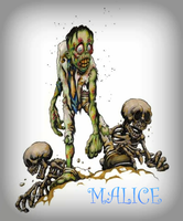 MALICE: Zombies Concept by TheRollingWestern