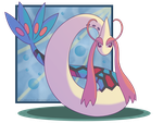 Commission: Milotic by Sandstormer