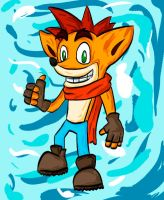 Crash Bandicoot by 00dastakimasu00
