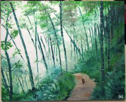 Bamboo Forest by ohida