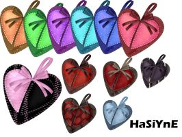 hearts png by HaSiYnE