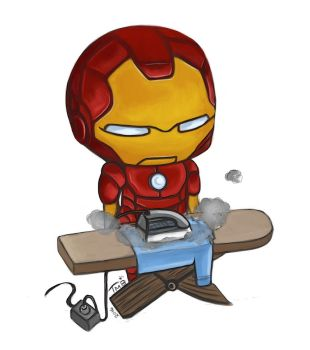 Tony Starch - The Ironing Man by MikoKristy