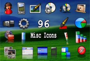 96 misc icons by zman3